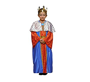 Disfraz de Rey Mago Azul para niños en varias tallas: Amazon.es: Juguetes y juegos