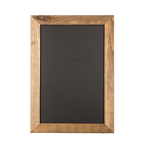 Ilyapa Magnetic Kitchen Chalkboard Sign - 12x16 Inch Rustic Framed Hanging Chalk Board by Ilyapa