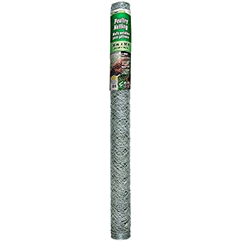 YARDGARD 308475B 3 Foot X 50 Foot 2 Inch Mesh Poultry Netting