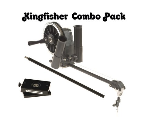 Walker Downriggers Kingfisher Combo Manual Downrigger by Walker Downriggers