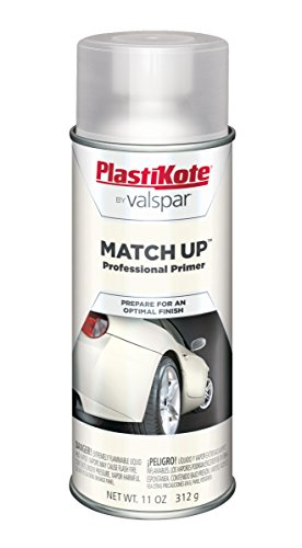 72 Corvette White Car (PlastiKote 1007 White Primer Automotive Touch-Up Paint - 11 oz.)
