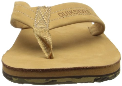 Quiksilver PORT E M SNDL TKD0 - Zapatillas De Agua de cuero hombre beige - Beige (TAN - SOLID)