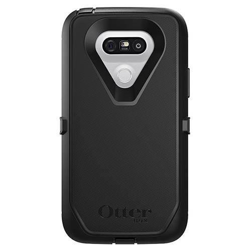 OtterBox DEFENDER SERIES Case for LG G5 - BULK Packaging - BLACK CASE ONLY (Best Case For The Lg G5)