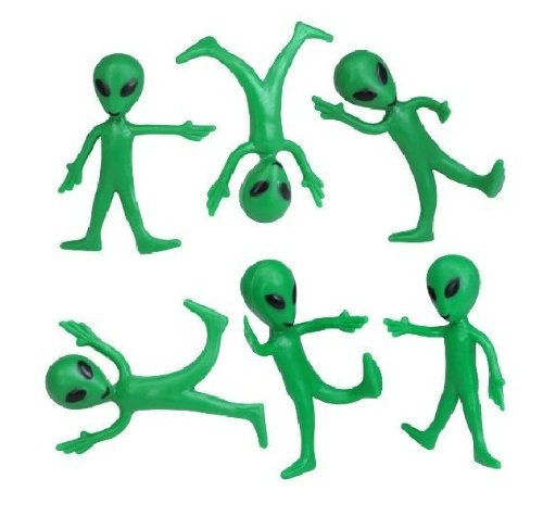 Bendable Alien Toys (1 dz)