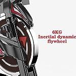 YUESFZ-Cyclette-Cyclette-Compatta-A-Motore-Ellittiche-Spin-Bike-Bicicletta-da-Spinning-Indoor-da-Interno-Bicicletta-da-Palestra-Stepper-Dimagrante-Color-Black-Size-83-57-126cm