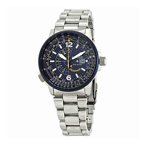 Citizen Watches Men's BJ7006-56L Eco-Drive Silver-Tone One - Citizen Nighthawk Watch