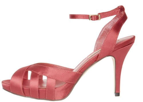 Rosa 5172 Kadam pink Menbur Sandalias De Satén Para Mujer 35 coral 0Pqwqd5