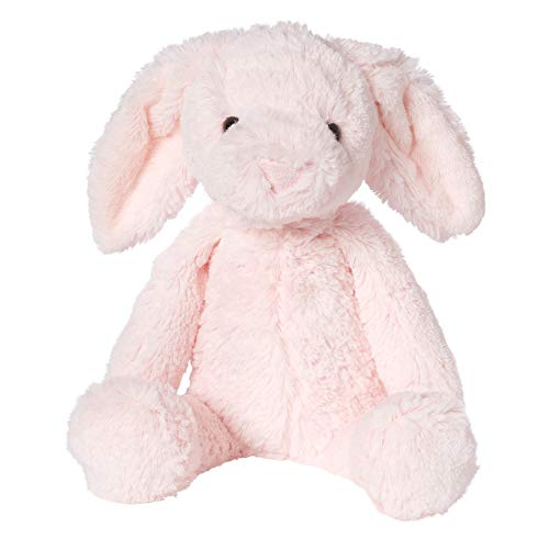 Manhattan Toy Lovelies Pink Binky Bunny Stuffed Animal, -