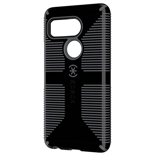 Speck Products CandyShell Grip Cell Phone Case for Google Nexus 5X ONLY Smartphone - Retail Packaging - Black/Slate (Best Accessories For Nexus 5x)