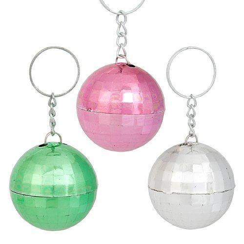 Shindigz Disco Ball Key Tag 1.5 Inches -