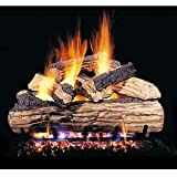 RealFyre Split Oak Designer Plus Vented Gas Logs (SDP-20), 20-Inch