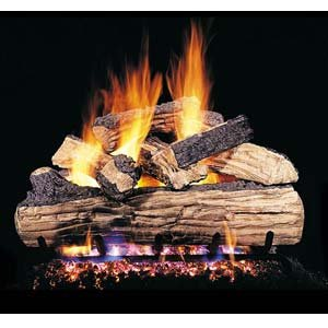 RealFyre Split Oak Designer Plus Vented Gas Logs (SDP-20), 20-Inch -