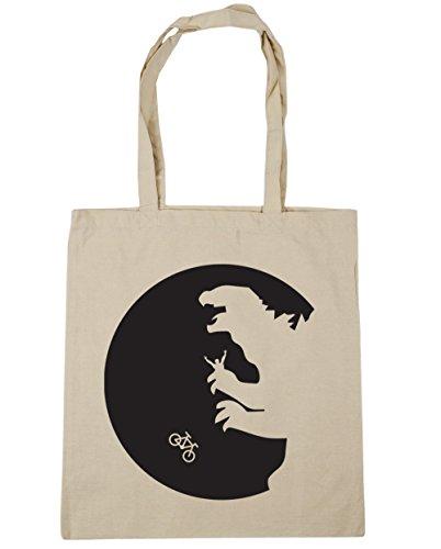HippoWarehouse no va a casa luna bolsa de la compra bolsa de playa 42cm x38cm, 10litros Natural