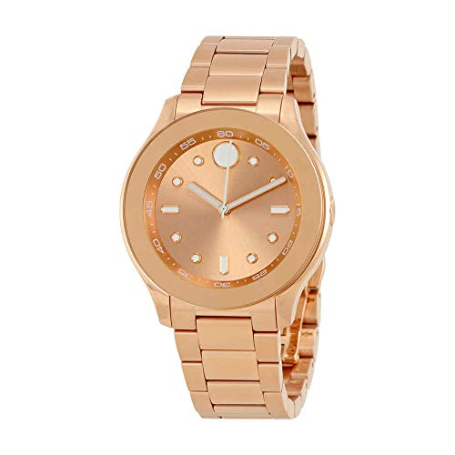 Women's Swiss Quartz Gold Plated Casual Watch(Model: ) - Movado 3600417