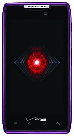 Motorola DROID RAZR 4G Android Phone, Purple 16GB (Verizon Wireless)
