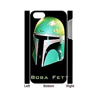 apply With Star Wars Boba Fett Green Helmet Slim Back Phone Covers For Girl For Apple Iphone 5/5S Case Cover Choose Design 1-1