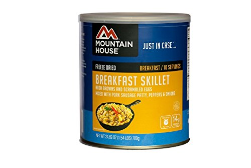 2 Skillet Pack (Mountain House Breakfast Skillet #10 CAN 2-Pack)