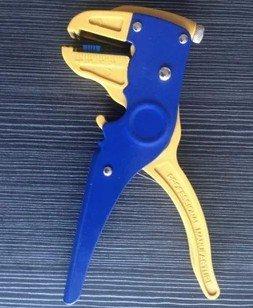 El Pollito/pato boca sola línea de ventilación/Stripping automática alicates pelacables: Amazon.es: Bricolaje y herramientas