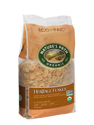 Nature's Path Organic Heritage Heirloom? Whole Grain Flake Cereal -- 32 oz - 2 pc