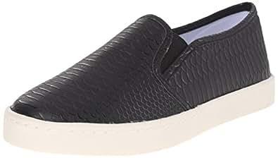 Report Women's Arvey Fashion Sneaker, Black Exotic, 6 M US