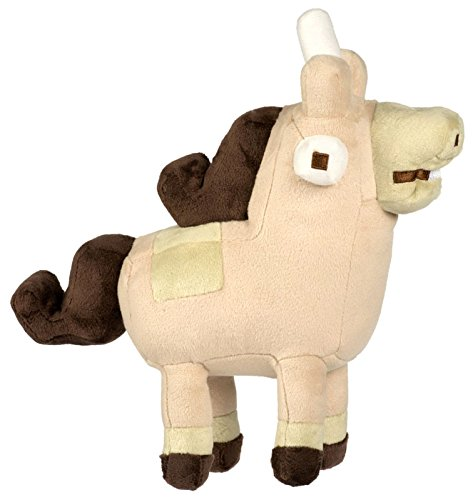 Officially Licensed Crossy Road Plush Toy Unihorse Figure, Beige & Brown, Medium, 8.5
