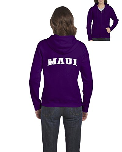 Ugo Maui Hawaii Travel Guide Flag What to do in Hawaii? Beaches Near Me Full-Zip Women's - Outlet Westgate