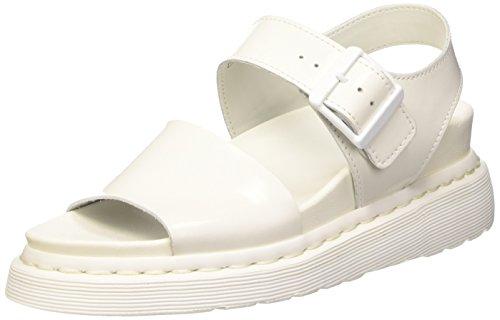 Dr Y Sandals Romi White Strap Women's Leather Martens a7qaIxwr6