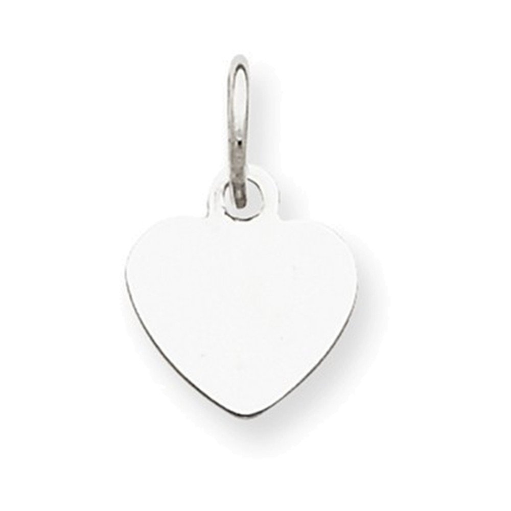 Jewelry Adviser Sterling Silver Medium Polished Number 33