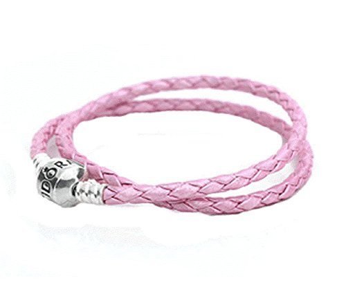 Pandora Double Pink Leather Bracelet product image