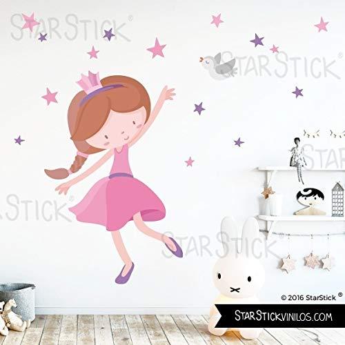 Vinilos infantiles Rosa Princesa infantil T0- Basico