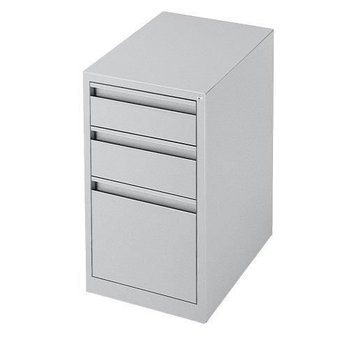 Global Office G Series 3 Drawer Vertical Metal File Cabinet-Black - Black by Global