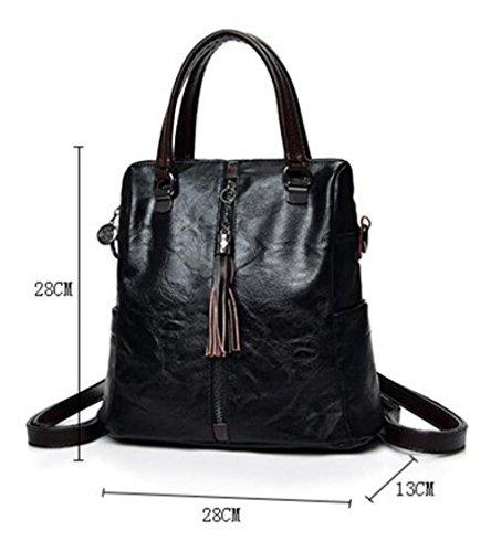 Shoulder Sacs Dos Backpack Gray à Sacs Pour Main Messenger à ZHXUANXUAN Dames Business zwdTHzq