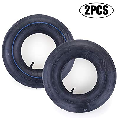 2 Pack 16X6.50-8, 16X7.50-8 Inner Tube for Snow Blower, Lawn Mower, ATV, Farm Tractor, Wheelbarrow, Trailer Implement, Heavy-Duty Replacement Inner Tube with TR-13 Straight Stem Valve: Automotive