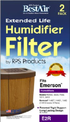 RPS #E2R-6 2PK Emerson Wick Filter by Rps Products