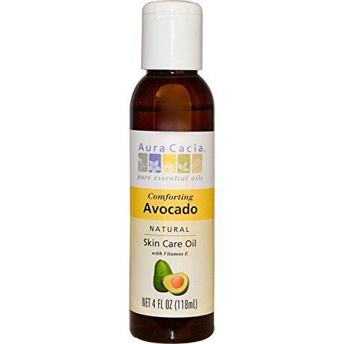 Aura Cacia, Natural Skin Care Oil, Comforting Avocado, 4 fl oz (118 ml) by Aura Cacia