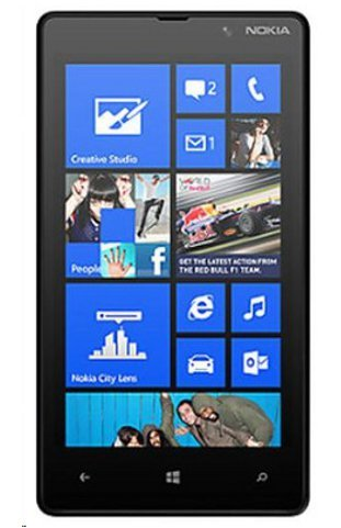 Nokia Outlet - Nokia Lumia 820 8GB GSM 4G LTE Windows 8 Smartphone - Black - AT&T - No Warranty