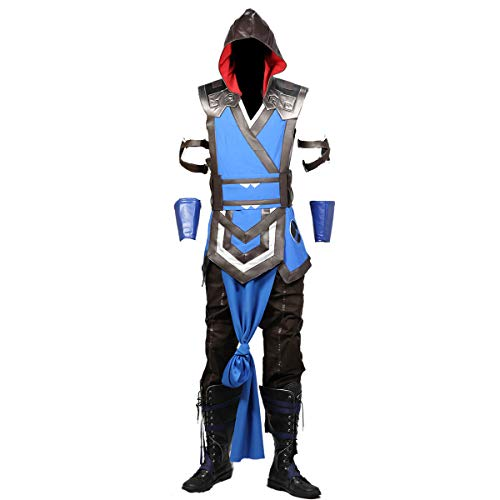 Mortal Kombat 11 Sub Zero Costume for Men L