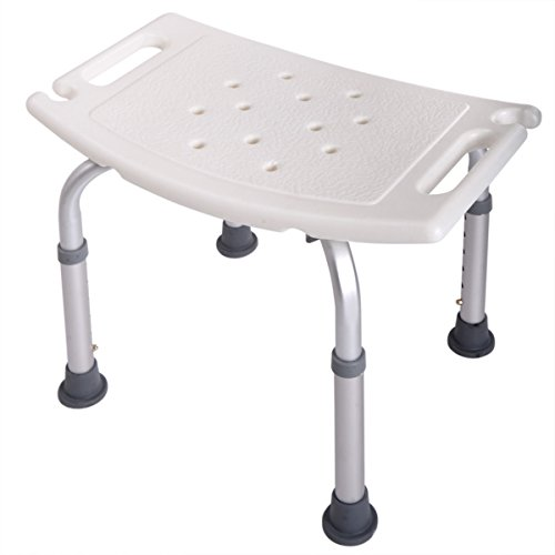 JAXPETY 6 Height Adjustable Bath and Shower Seat Top Rated Shower Bench by JAXPETY (Image #2)