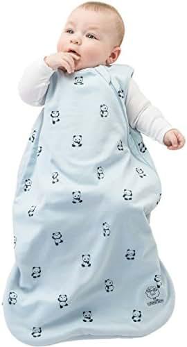 Woolino 4 Season Basic Merino Wool Baby Sleep Bag or Sack, 18-36 Months, Panda