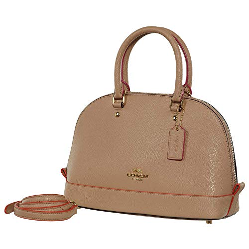 Shoulder Shoulder Pink Purse Sierra Mini Women��s Nude Coach Inclined Satchel Multi Handbag 6wqFZgF5nt
