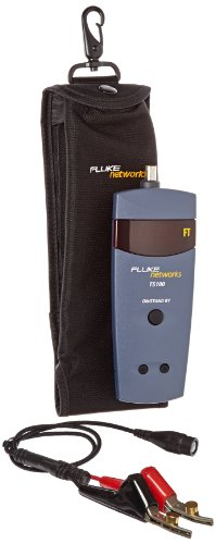 Fluke Networks 26500390 TS100 Kit with Case, BNC to ABN Linecord for TS100 Cable Fault Finder (Fault Ts100 Cable Finder)