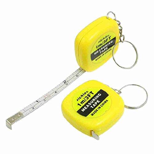 Miki y CO 2 piezas amarillo llaves para medir 1 metro 3 pies ...
