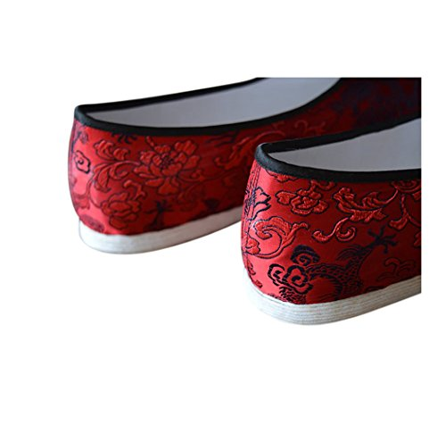 Shoes Kung Sole Fu 203 Sew Martial Handsewn Cotton Arts Cushion Hand Chi Soft Free Sole Tai Magazine Deluxe RRBXwx