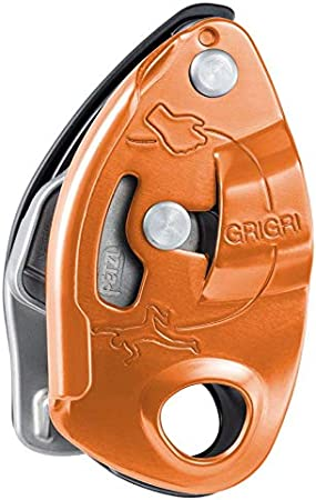 Petzl-asegurador escalada Grigri Petzl 2, color - naranja ...