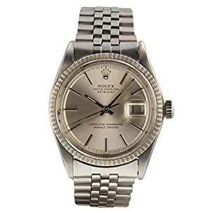 Rolex Datejust Automatic Male Watch 1601 (Certified Pre-Owned)