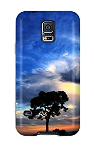 Snap-on Beautiful Sky Case Cover Skin Compatible With Galaxy S5