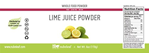 Nubeleaf Lime Juice Powder (6oz)
