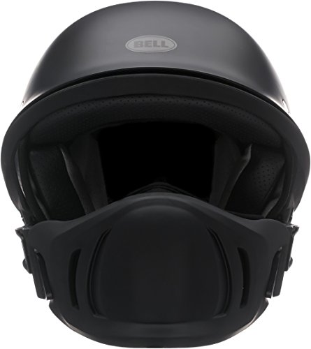 Bell Rogue Half Size Motorcycle Helmet (Solid Matte Black, Large)