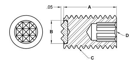 Fairlane PG-0500-4 Adjustable Gripper 4 Point 1//2-20 x 1 in
