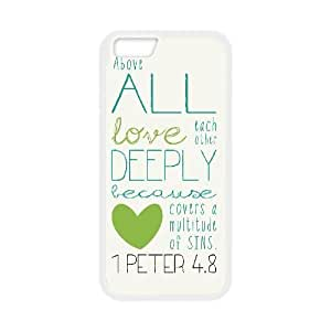 """Christian,Bible Verses Quotes Original New Print DIY Phone Case for Iphone6 4.7"""",personalized case cover ygtg-767297"""